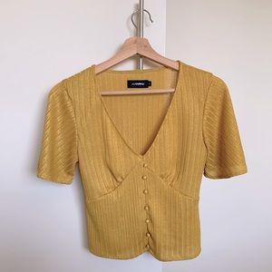 VALLEYGIRL V neck blouse / top